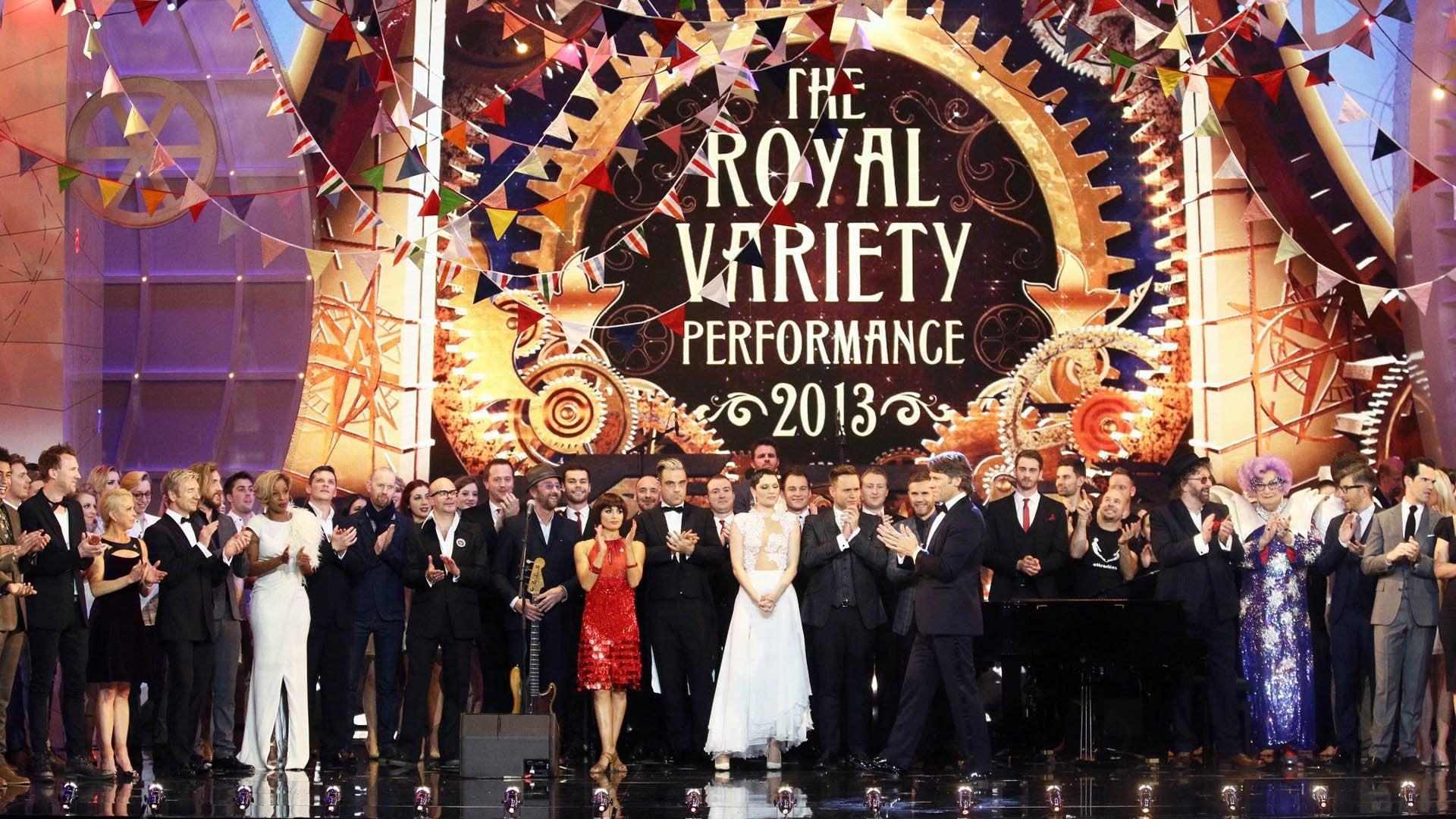 The Royal Variety Performance 2013