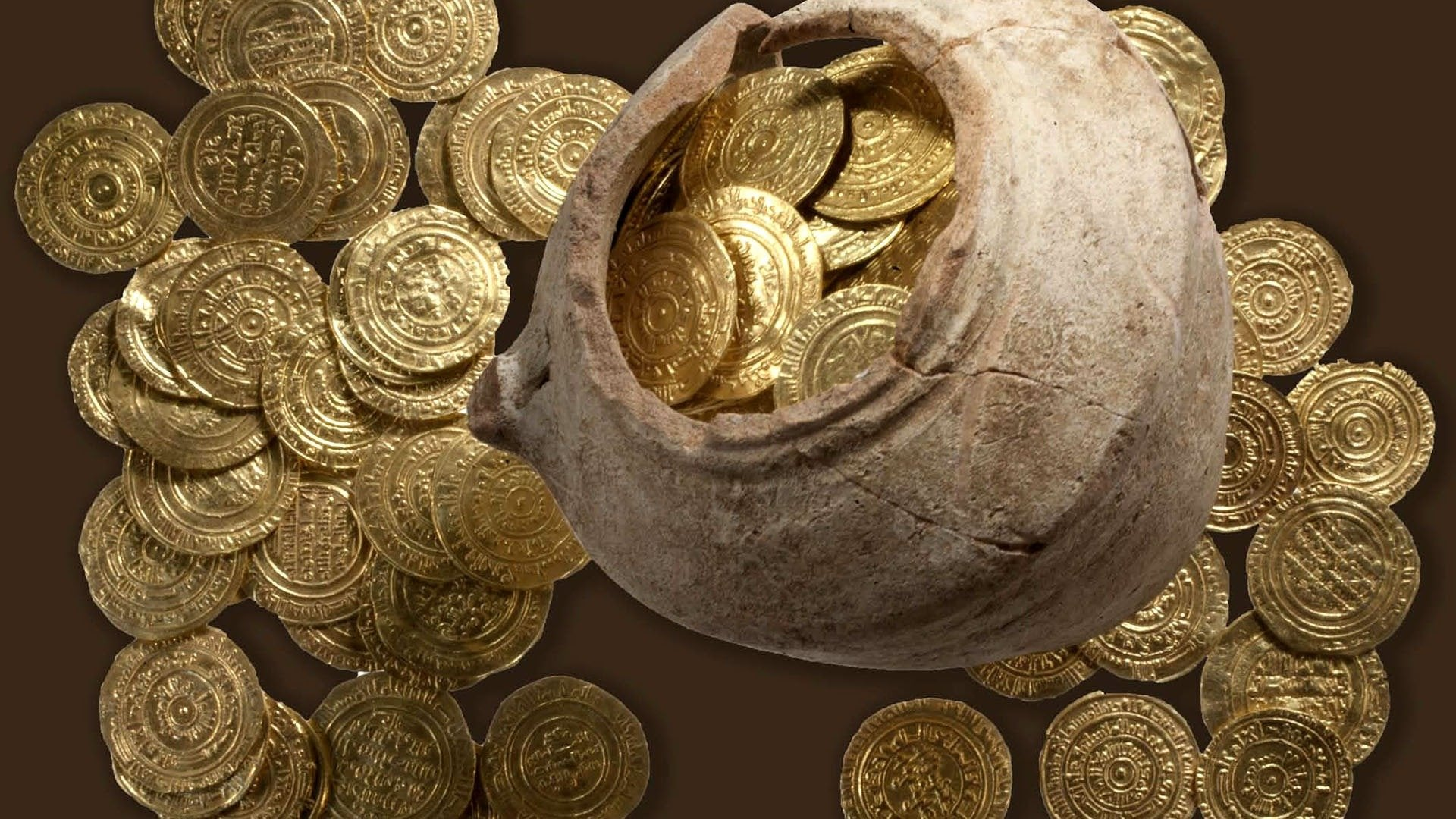 The Lost Treasure of the Holy Land