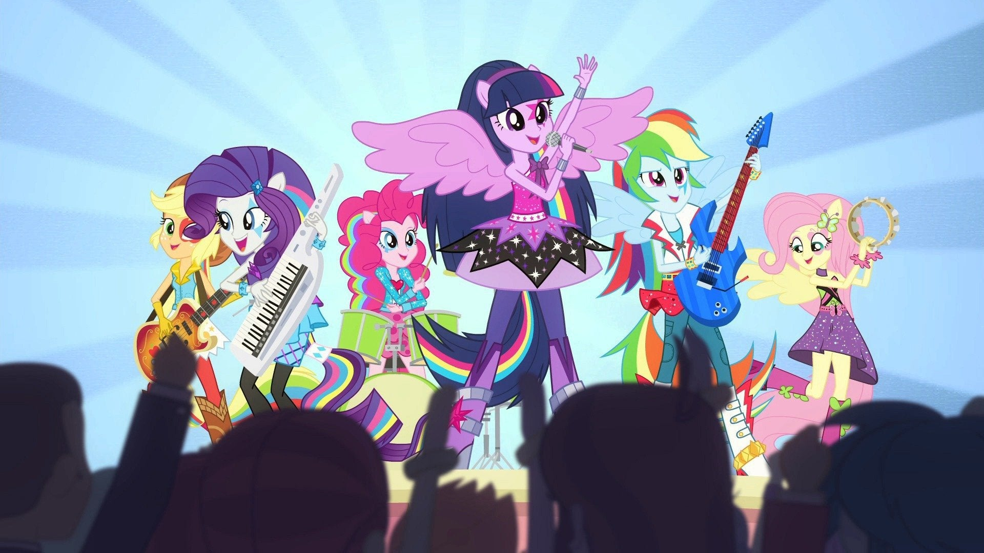 My Little Pony Equestria Girls: Rainbow Rocks Shorts