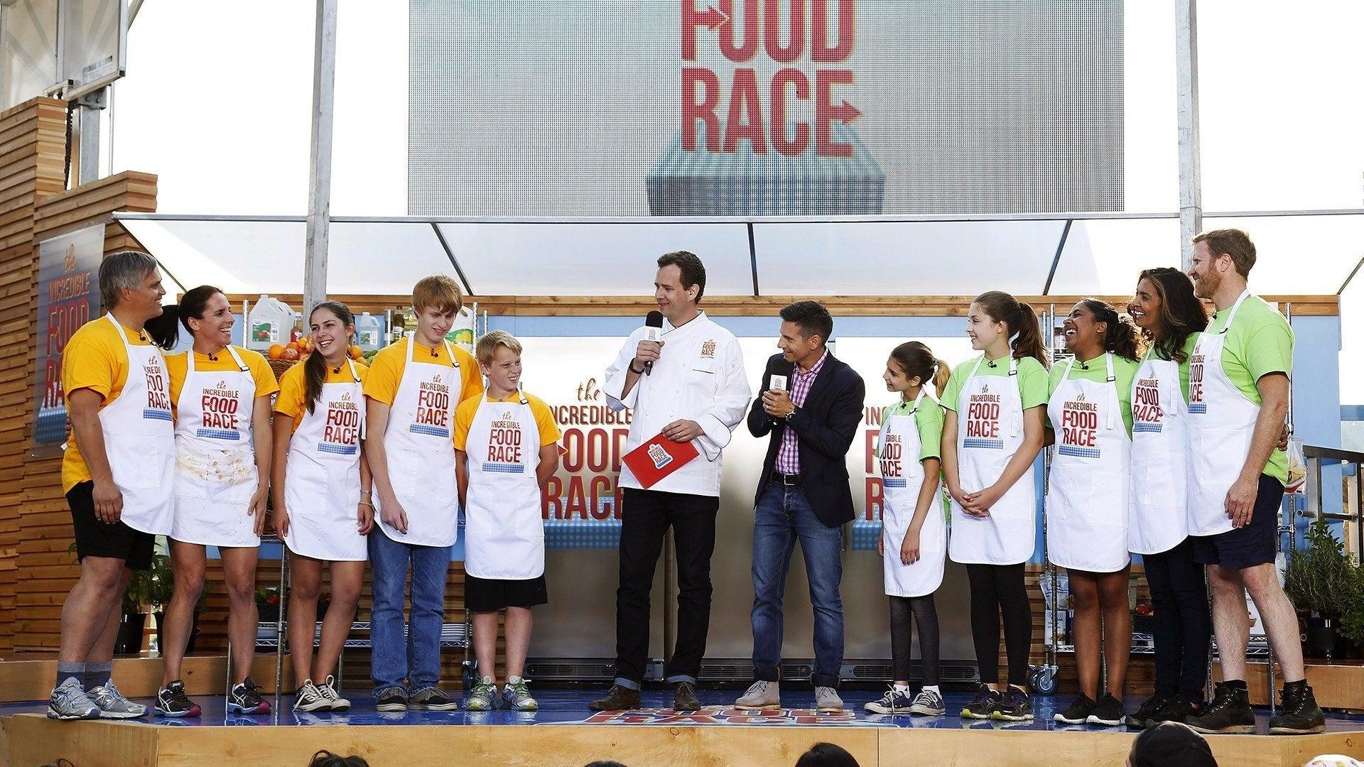 The Incredible Food Race