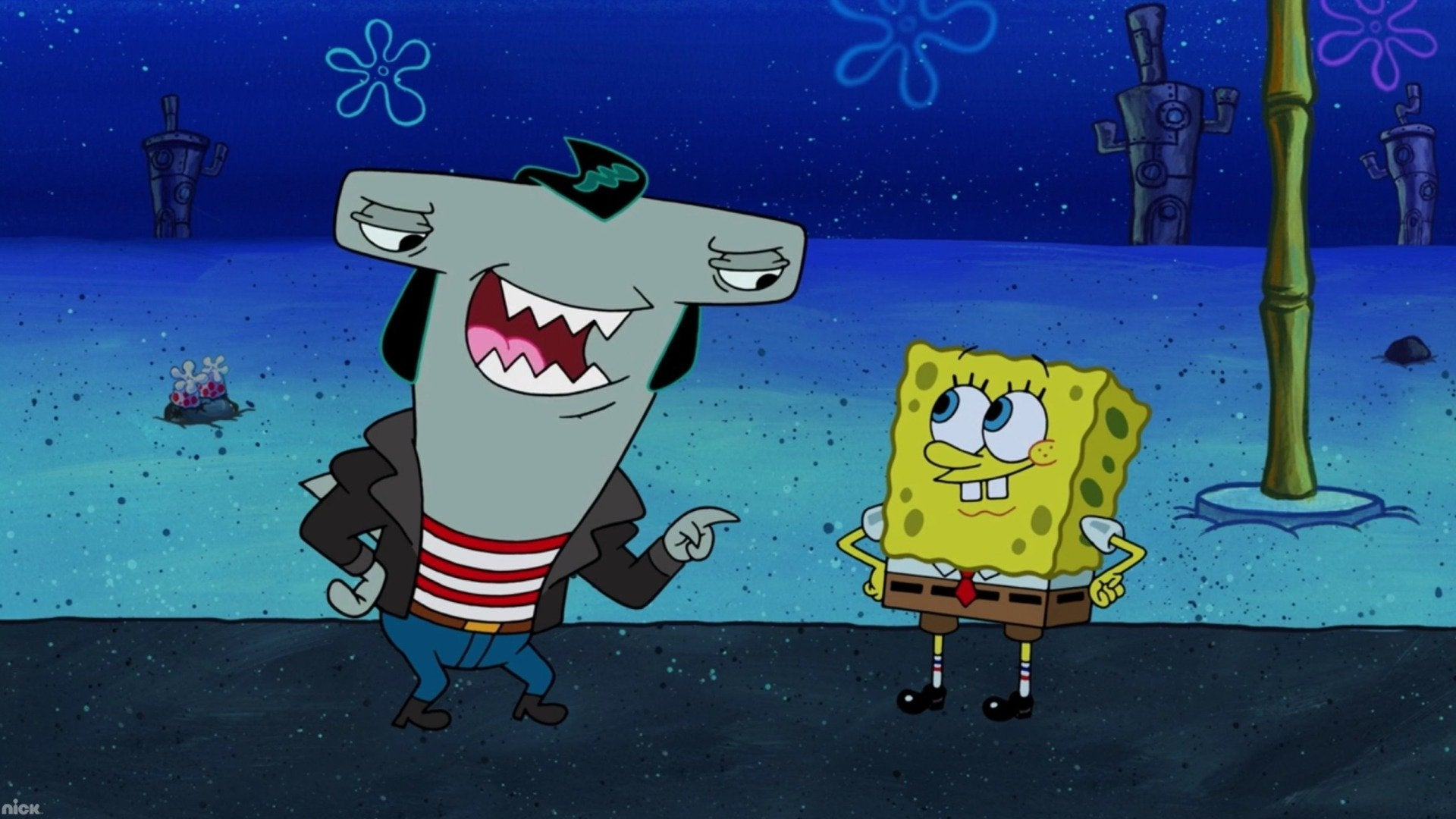 SpongeBob SquarePants: Sharks vs  Pods