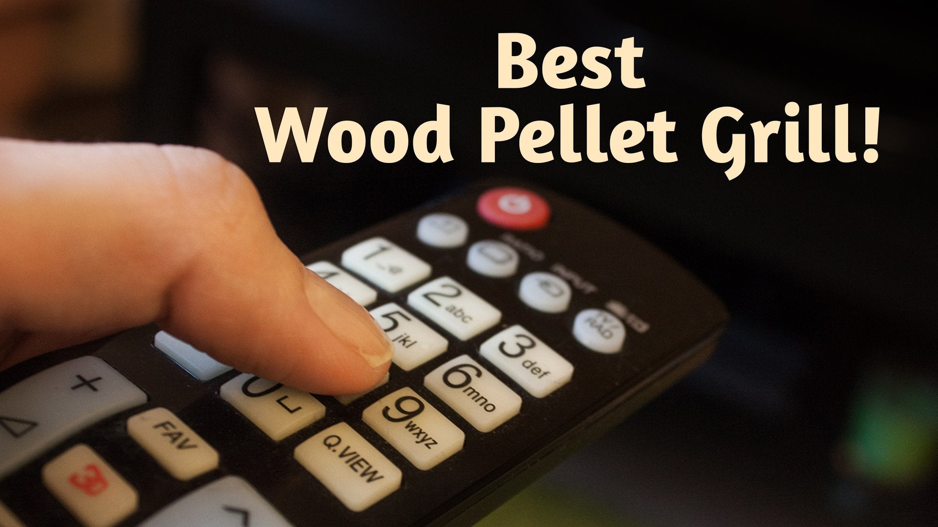 Best Wood Pellet Grill!