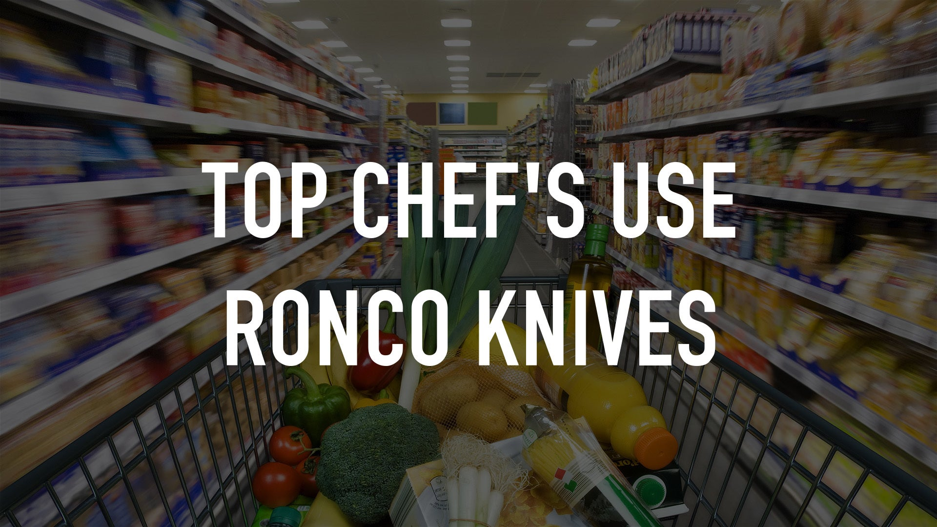 Top Chef's Use Ronco Knives