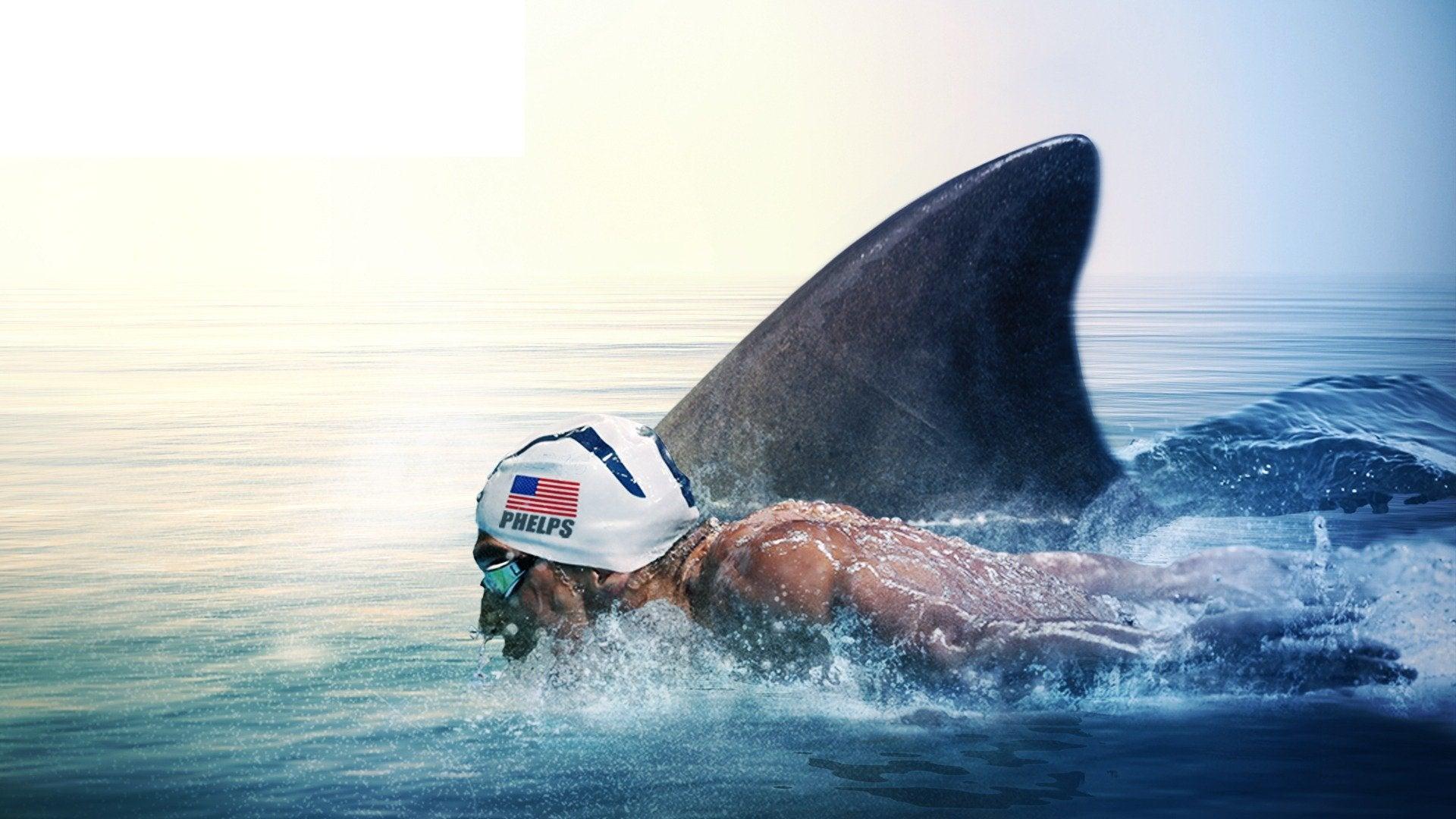 Phelps vs Shark: Great Gold vs Great White