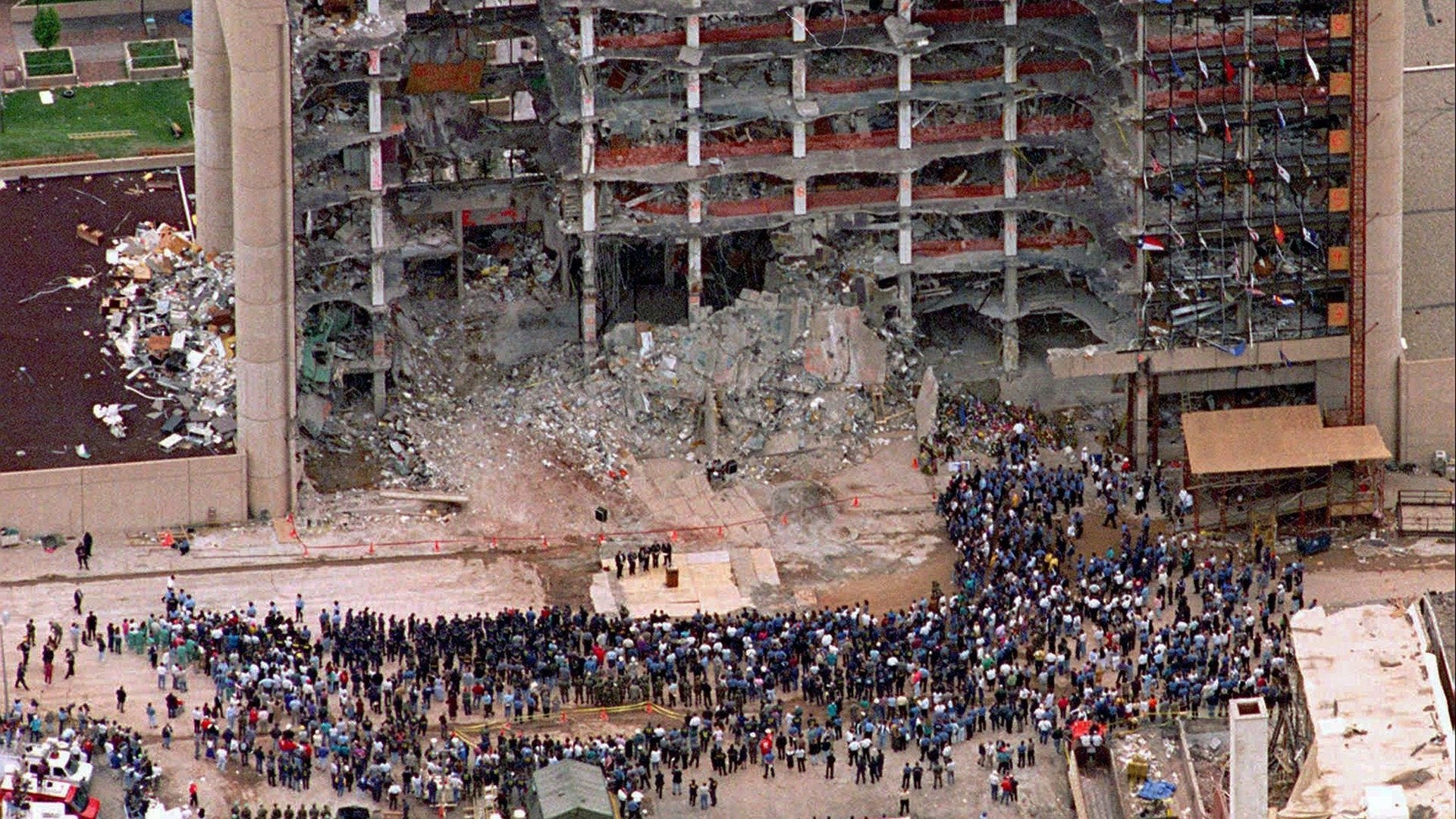 Oklahoma City Bombing: As We Watched