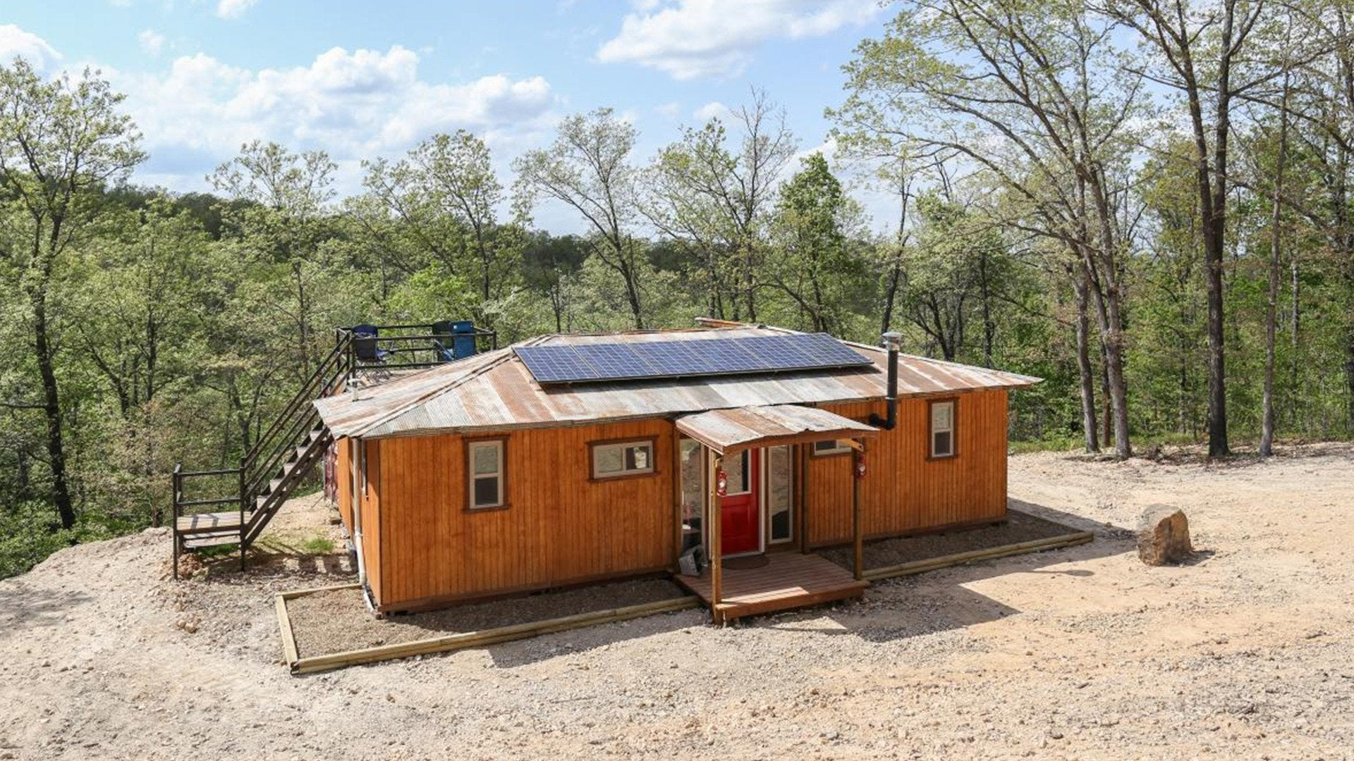 Building Off the Grid: Ozark Paradise
