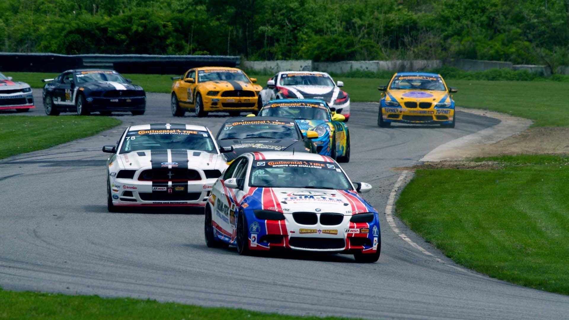 The Lime Rock Historical Festival 35, From Lime Rock Park in Connecticut