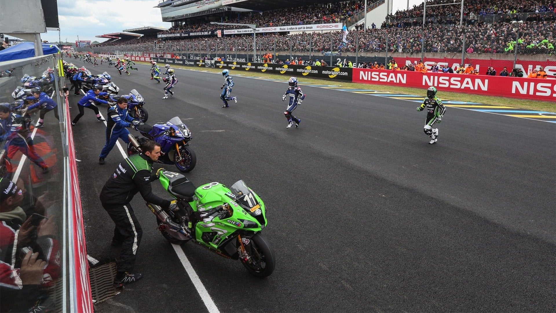 2017 FIM Endurance World Championship: France / 24H Du Mans Behind the Scenes