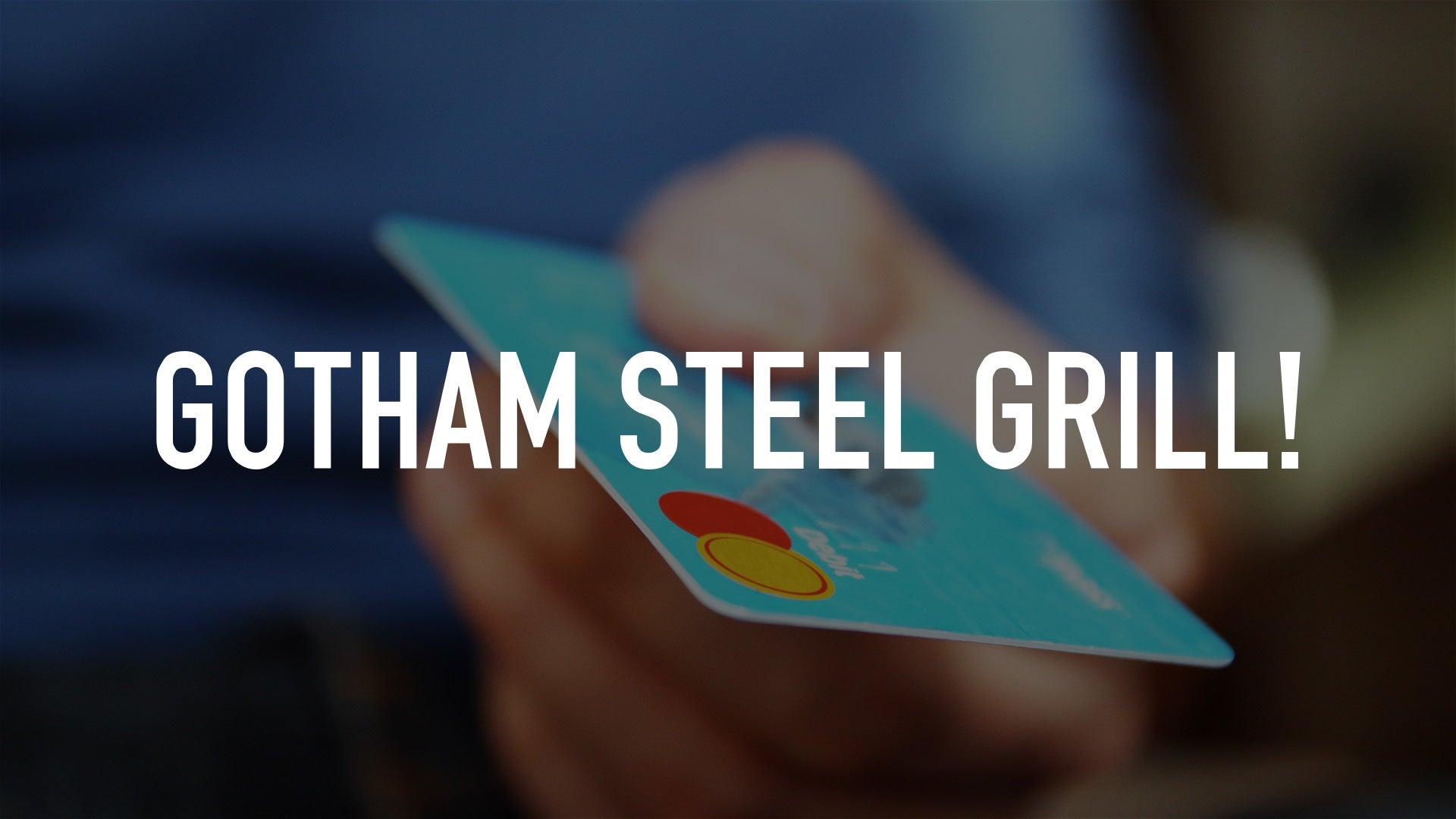 Gotham Steel Grill!