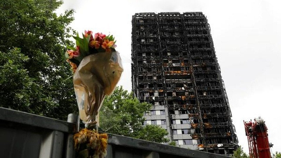 Grenfell Tower Memorial Service