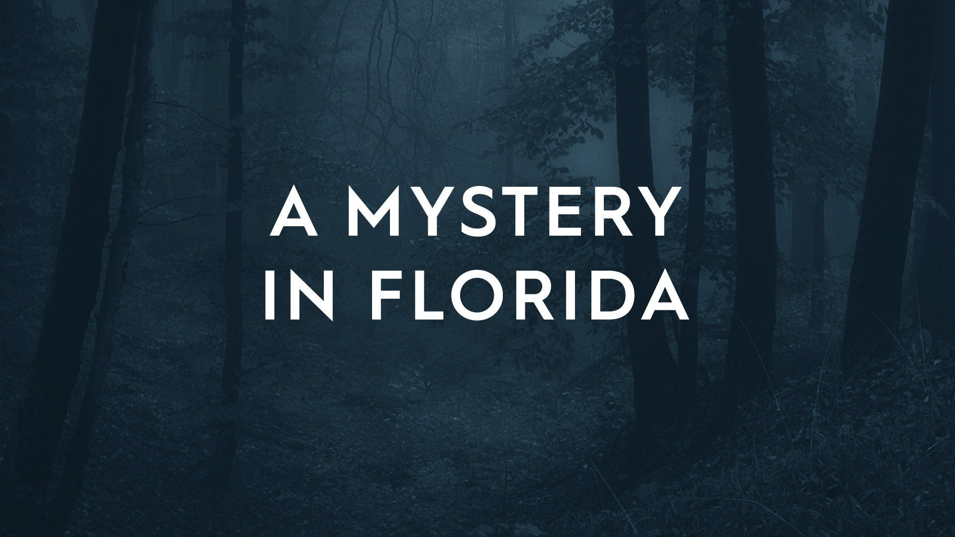 A Mystery in Florida
