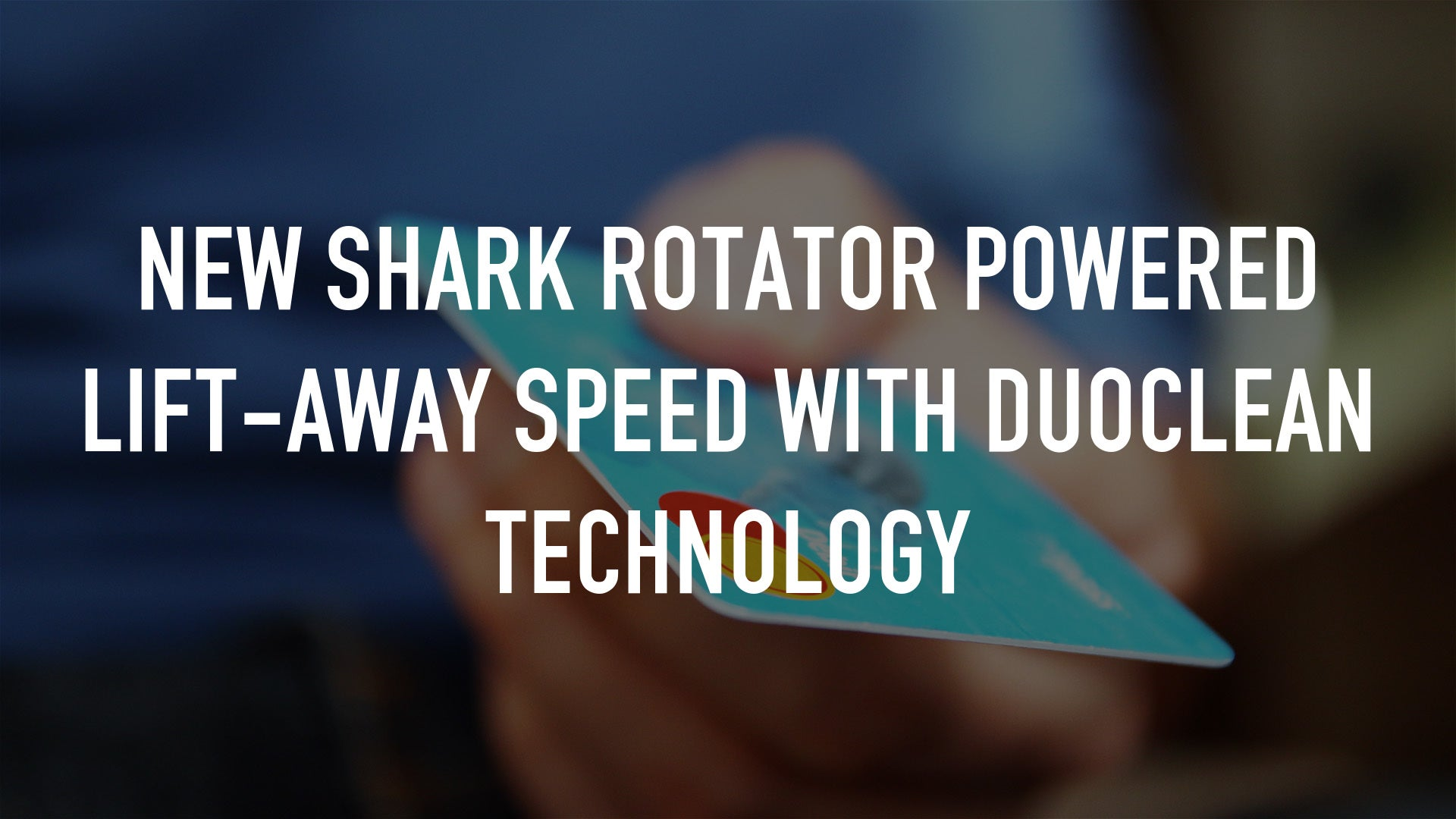 NEW Shark Rotator Powered Lift-Away Speed with DuoClean Technology
