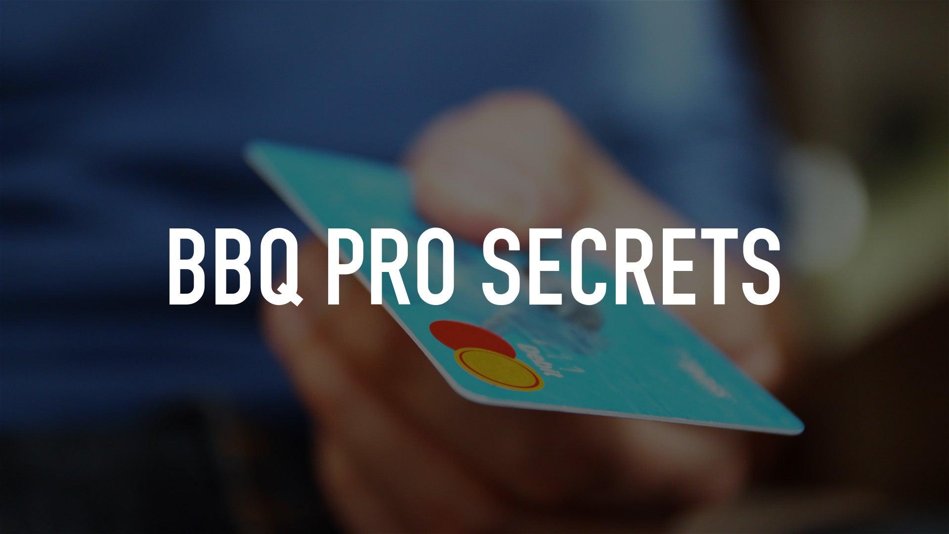 BBQ Pro Secrets