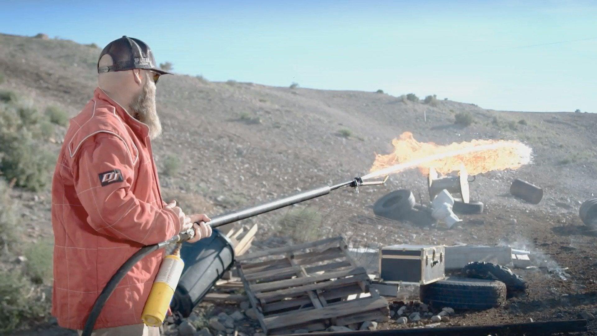 Fistful of Steel: Flamethrower