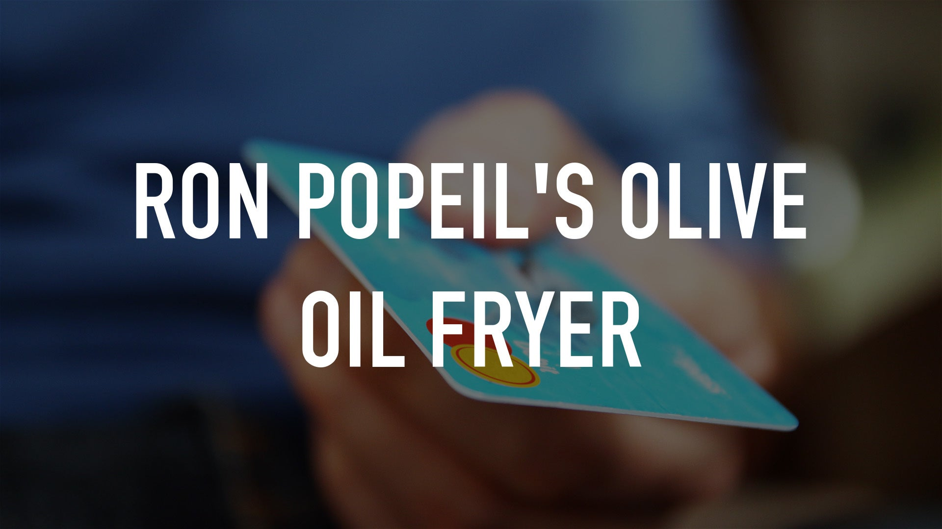 Ron Popeil's Olive Oil Fryer