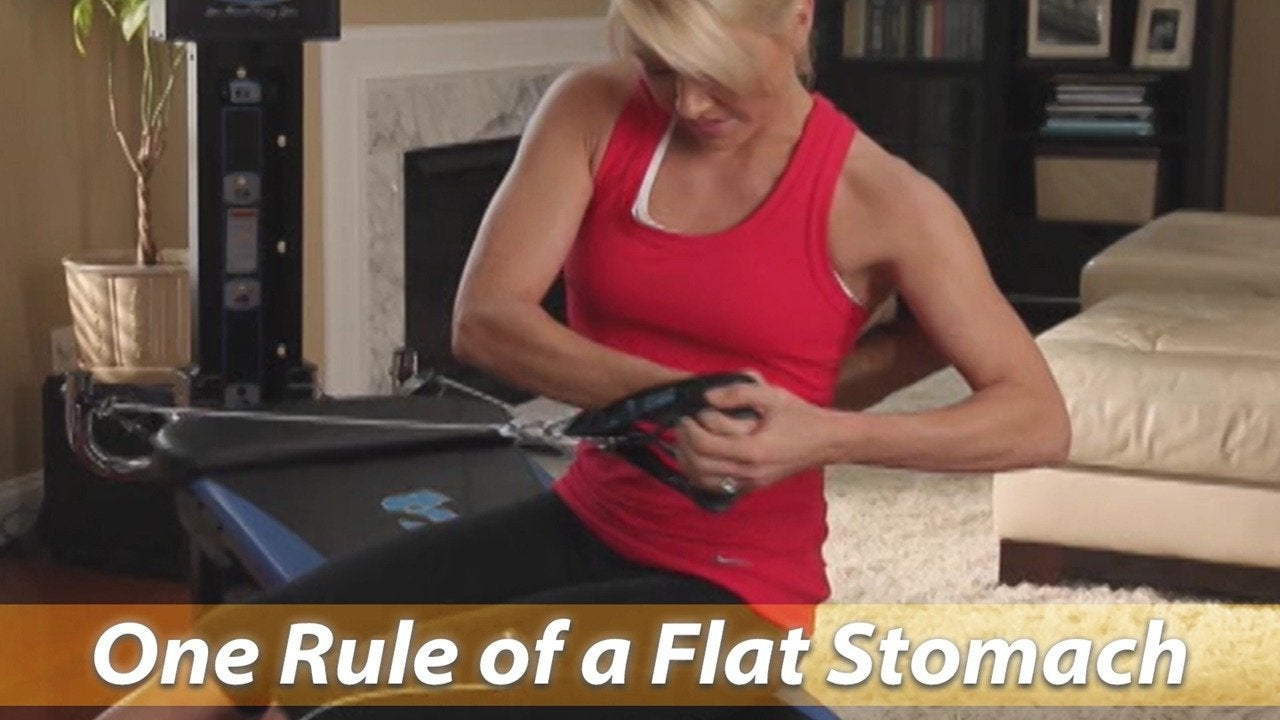 One Rule of a Flat Stomach