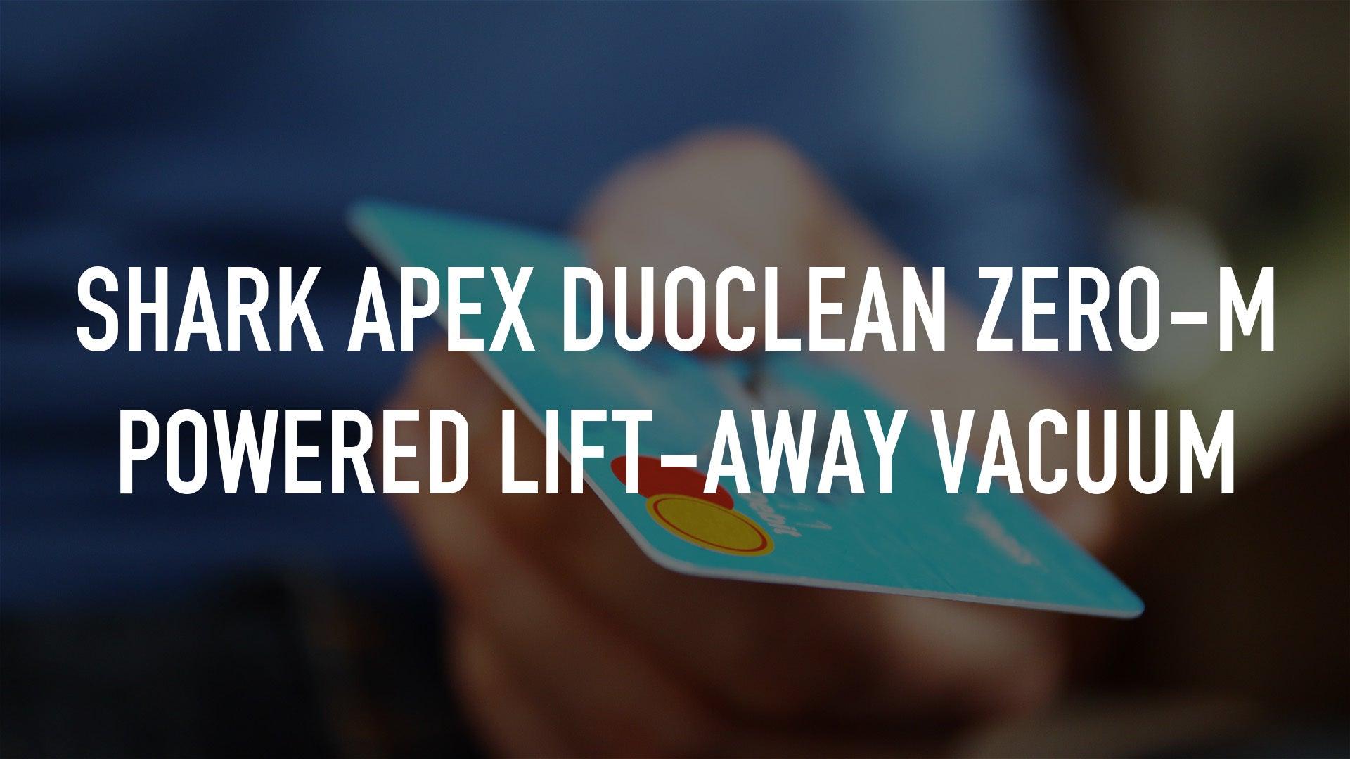 Shark APEX DuoClean Zero-M Powered Lift-Away Vacuum