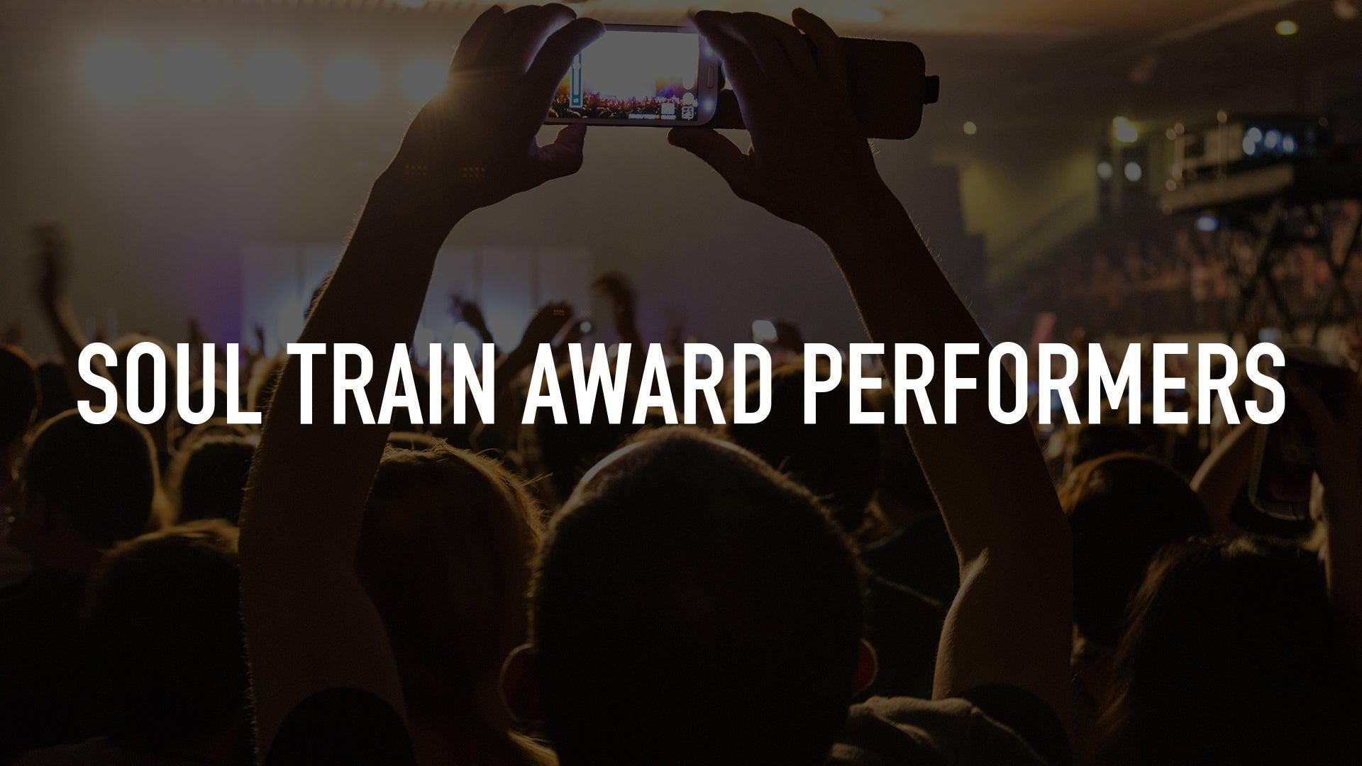 Soul Train Award Performers