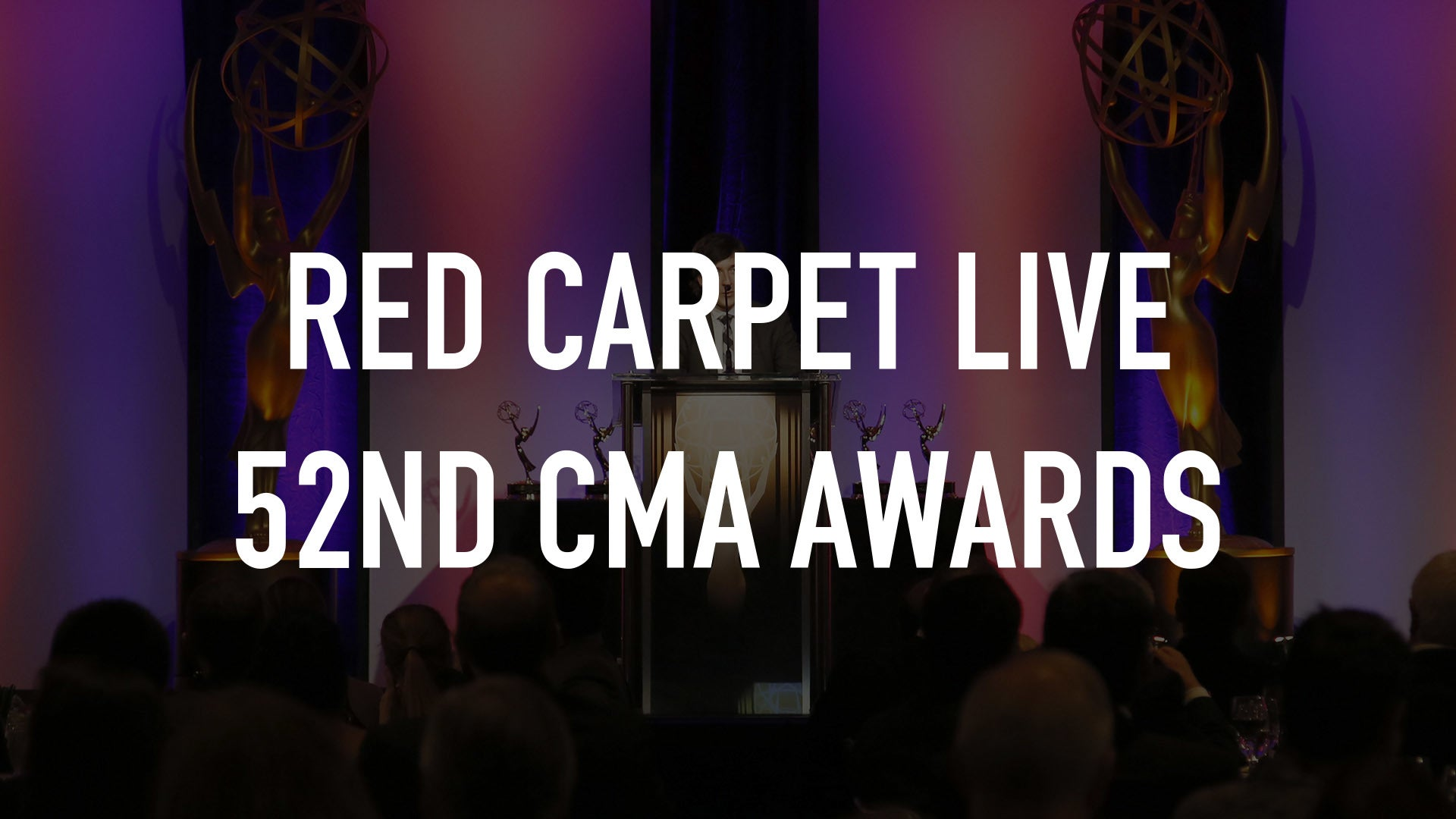 Red Carpet Live 52nd CMA Awards