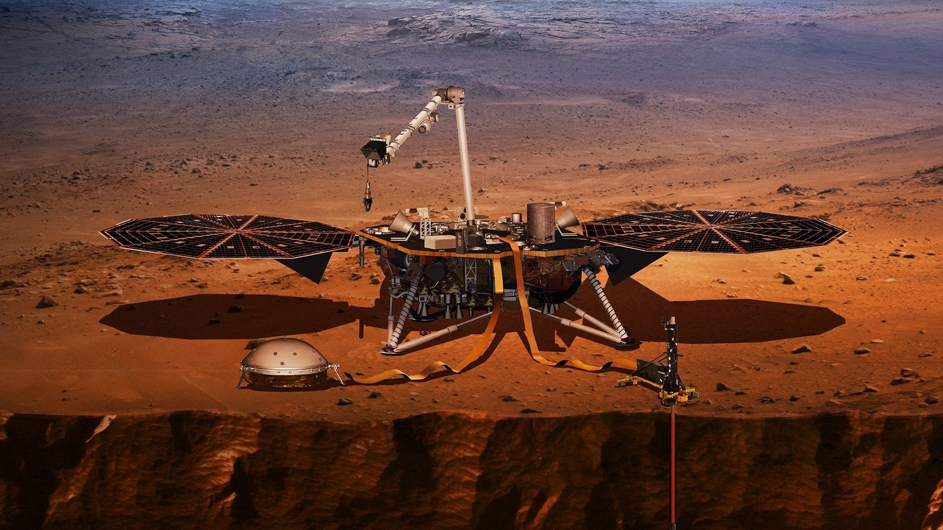 NASA's Mission to Mars: InSight Lander