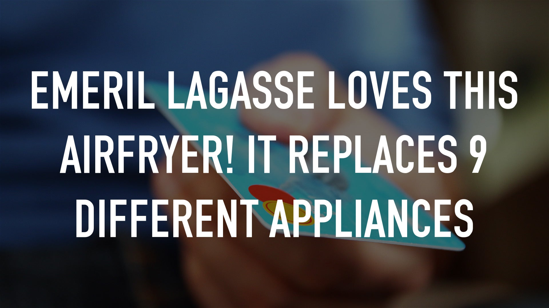 Emeril Lagasse LOVES this AirFryer! It Replaces 9 Different Appliances