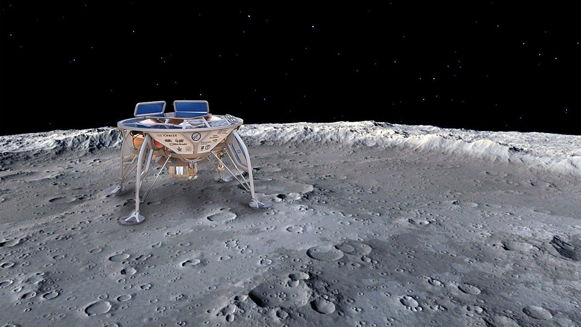 Moon Lander Live: Takeoff