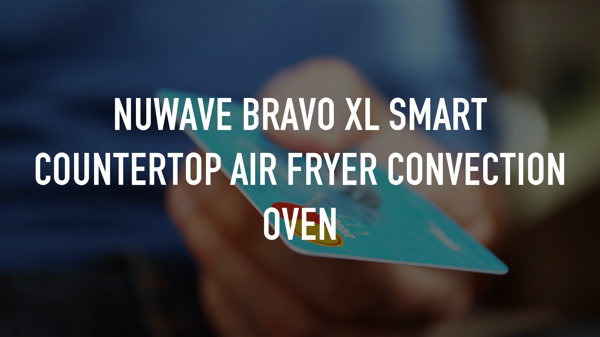 NuWave Bravo XL Smart Countertop Air Fryer Convection Oven