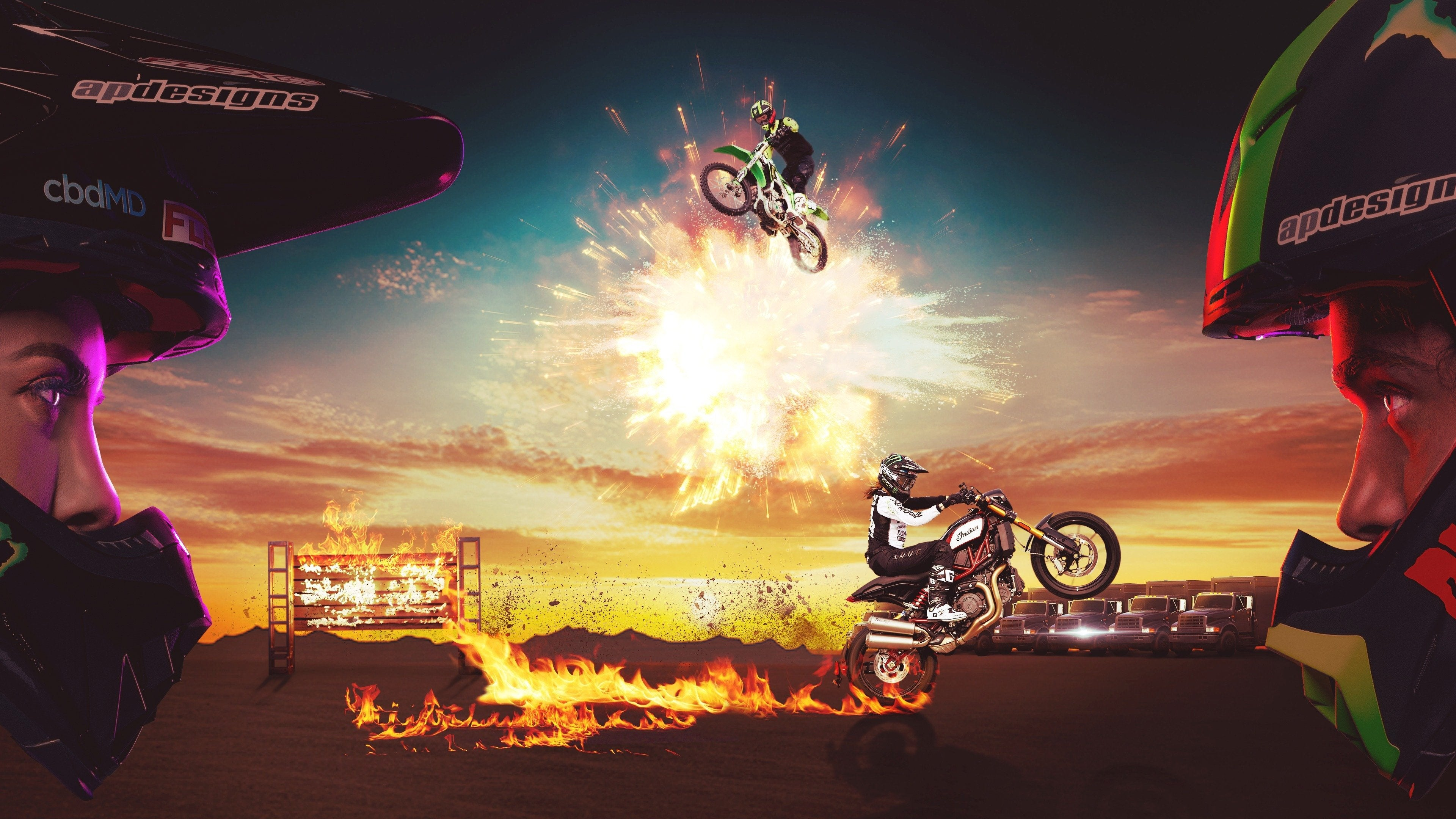Evel Live: Behind the Scenes