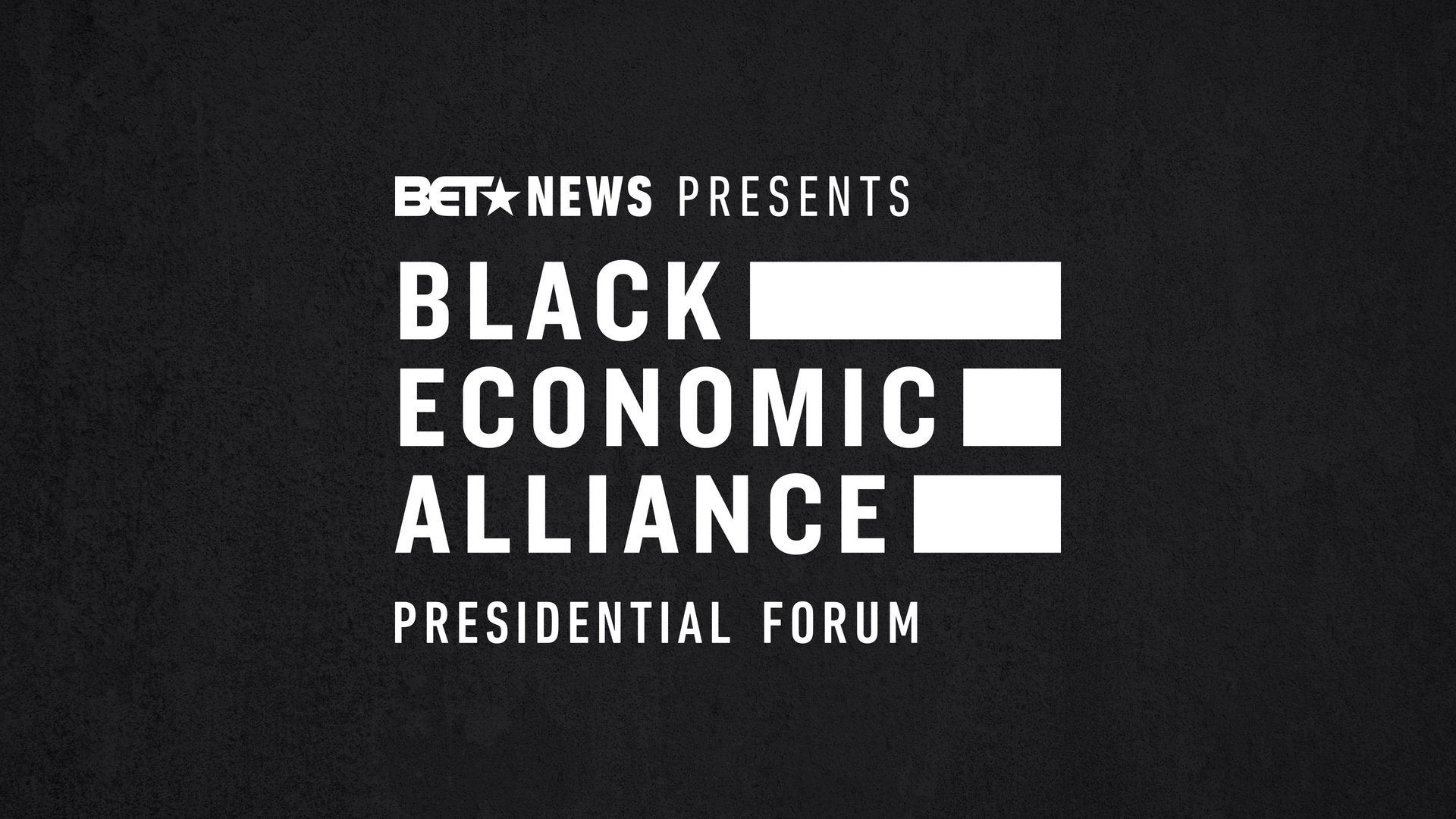 Black Economic Alliance Forum