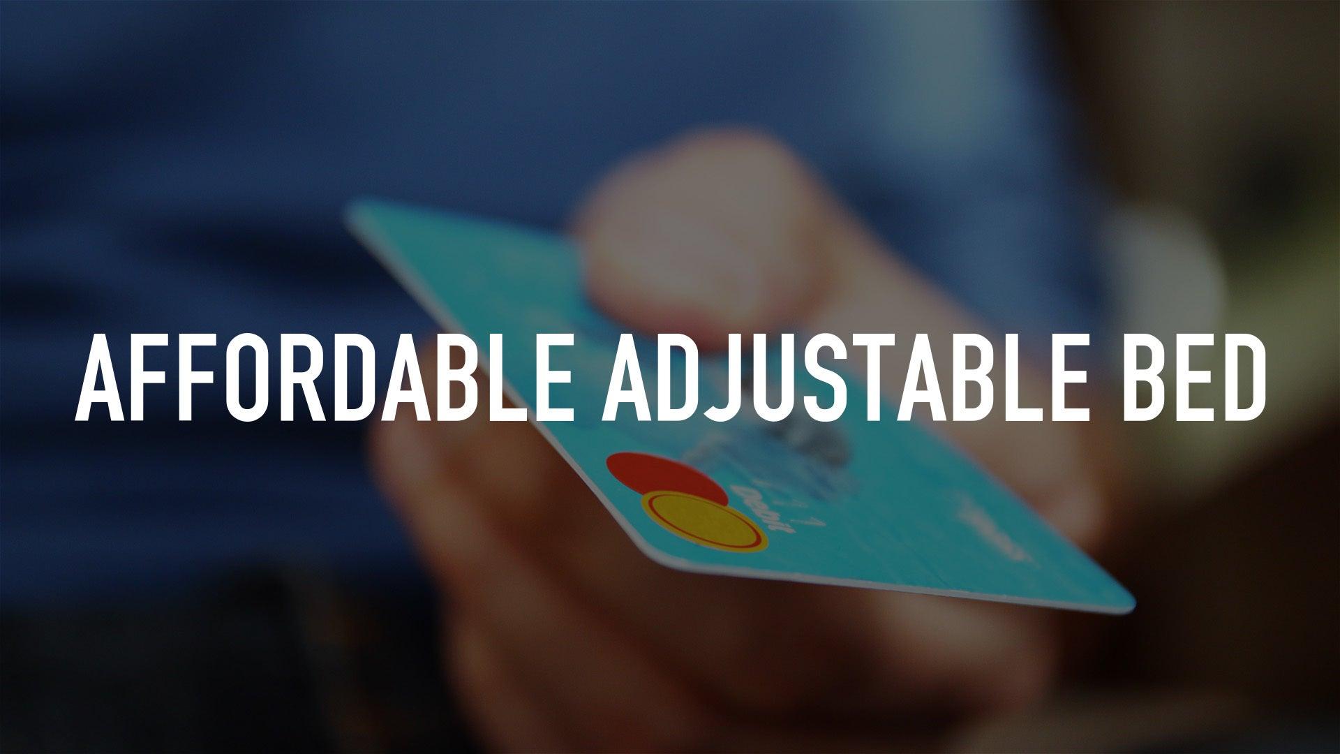 Affordable Adjustable Bed