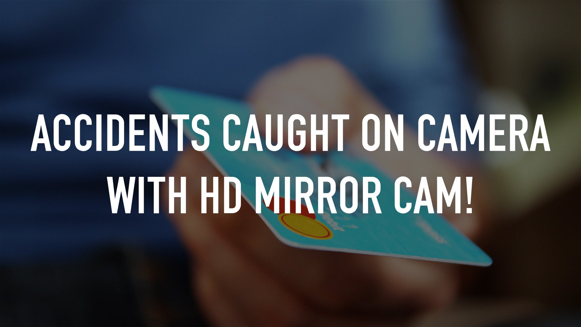 Accidents Caught on Camera with HD Mirror Cam!