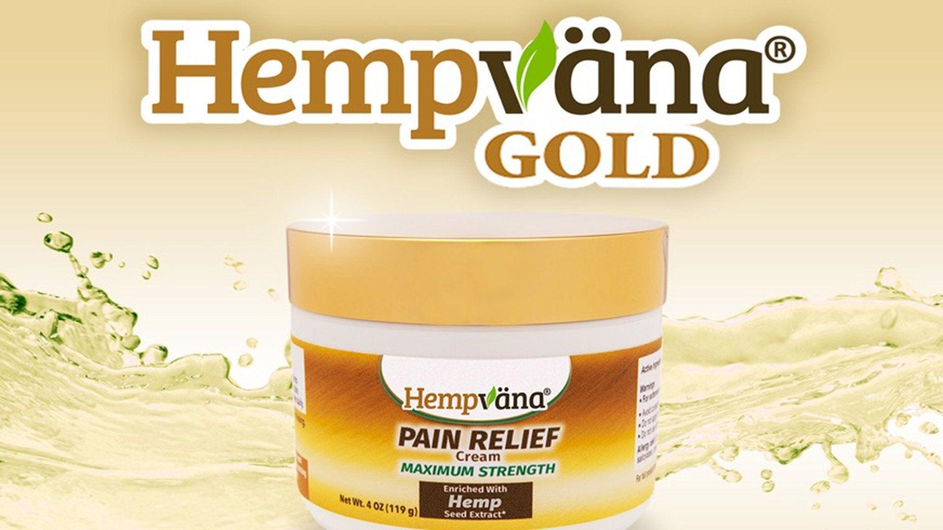 Hempvana Gold Pain Relief Cream