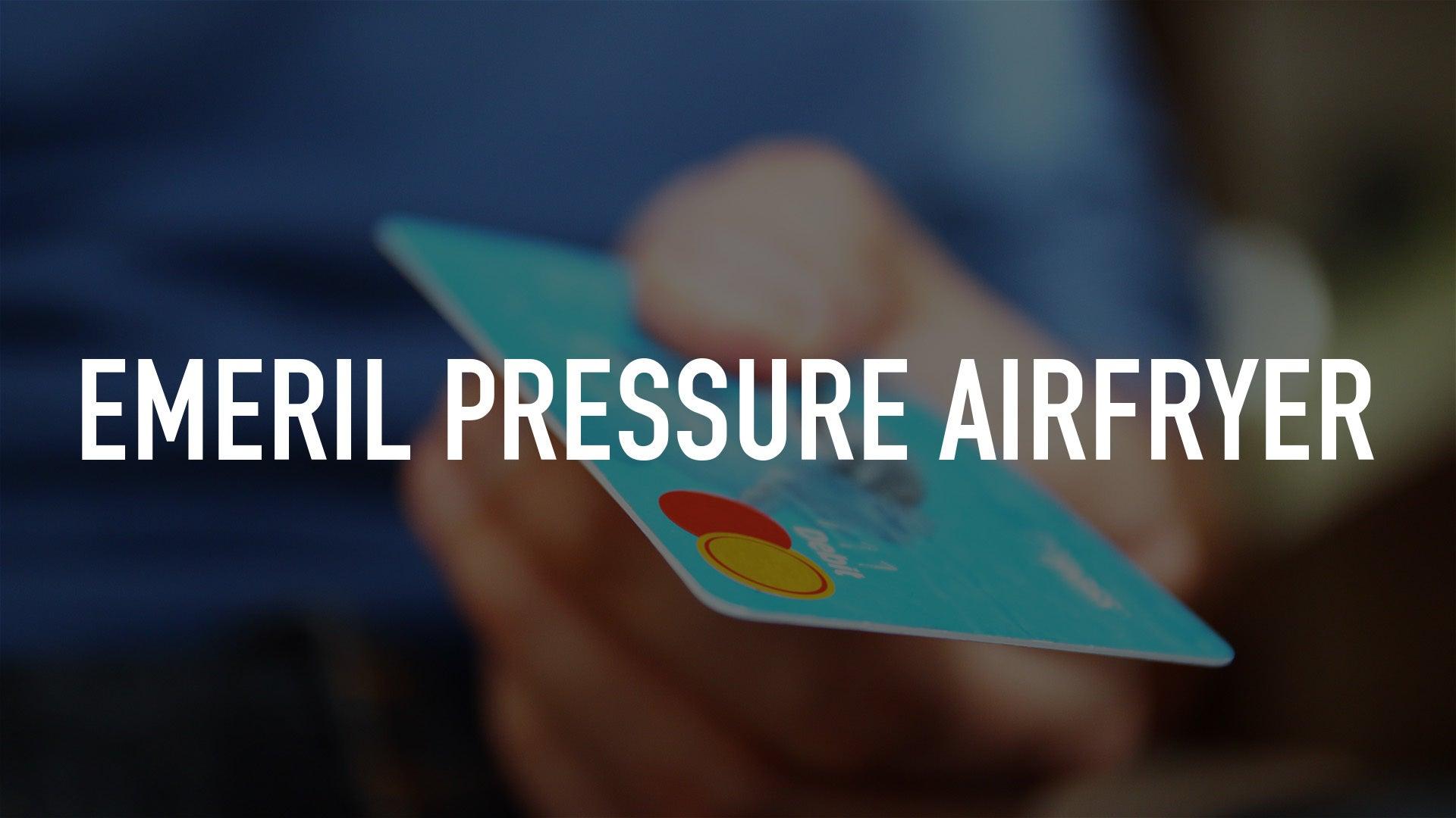 Emeril Pressure Airfryer
