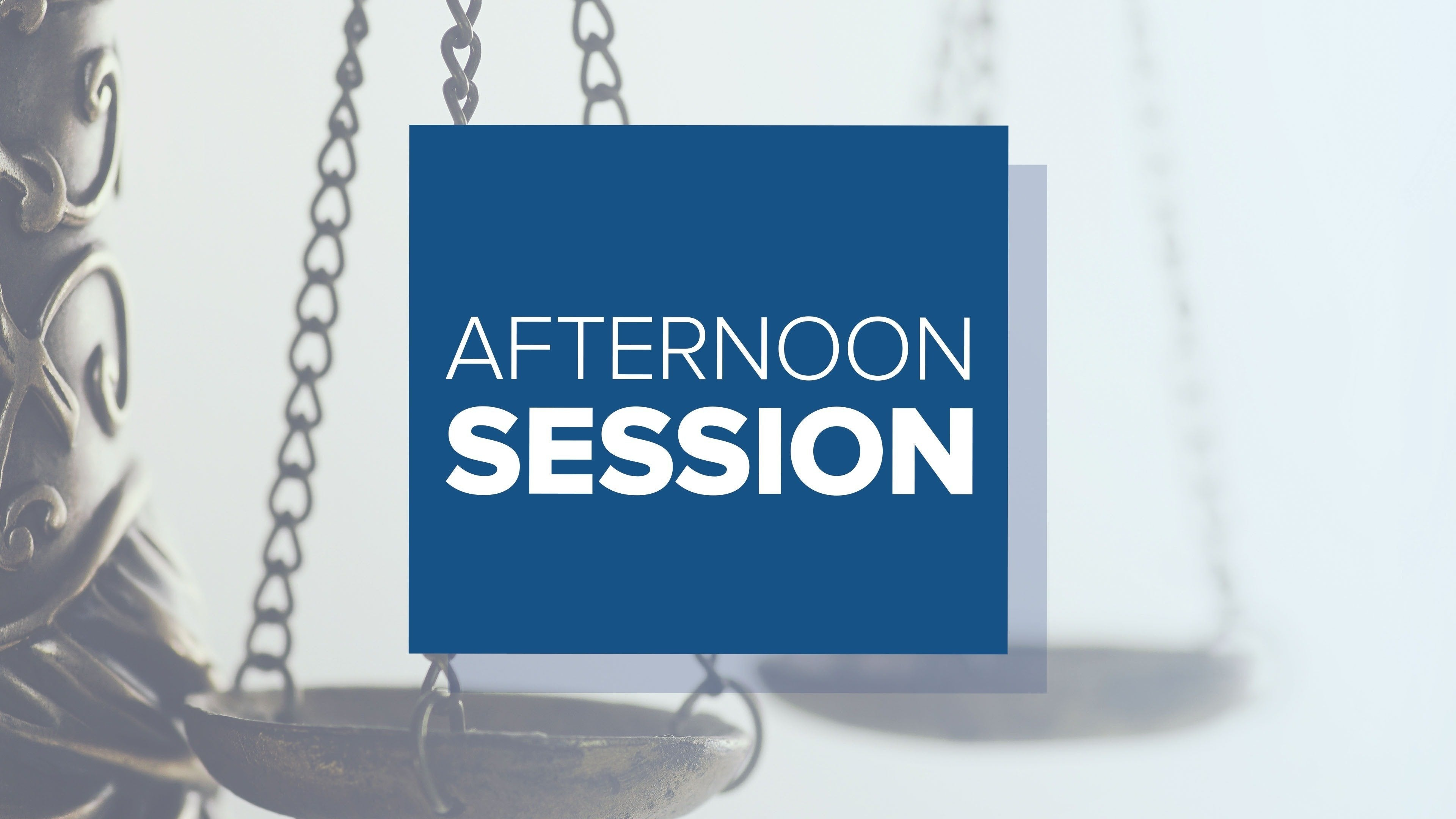 Afternoon Session: Live Trial Coverage and Analysis