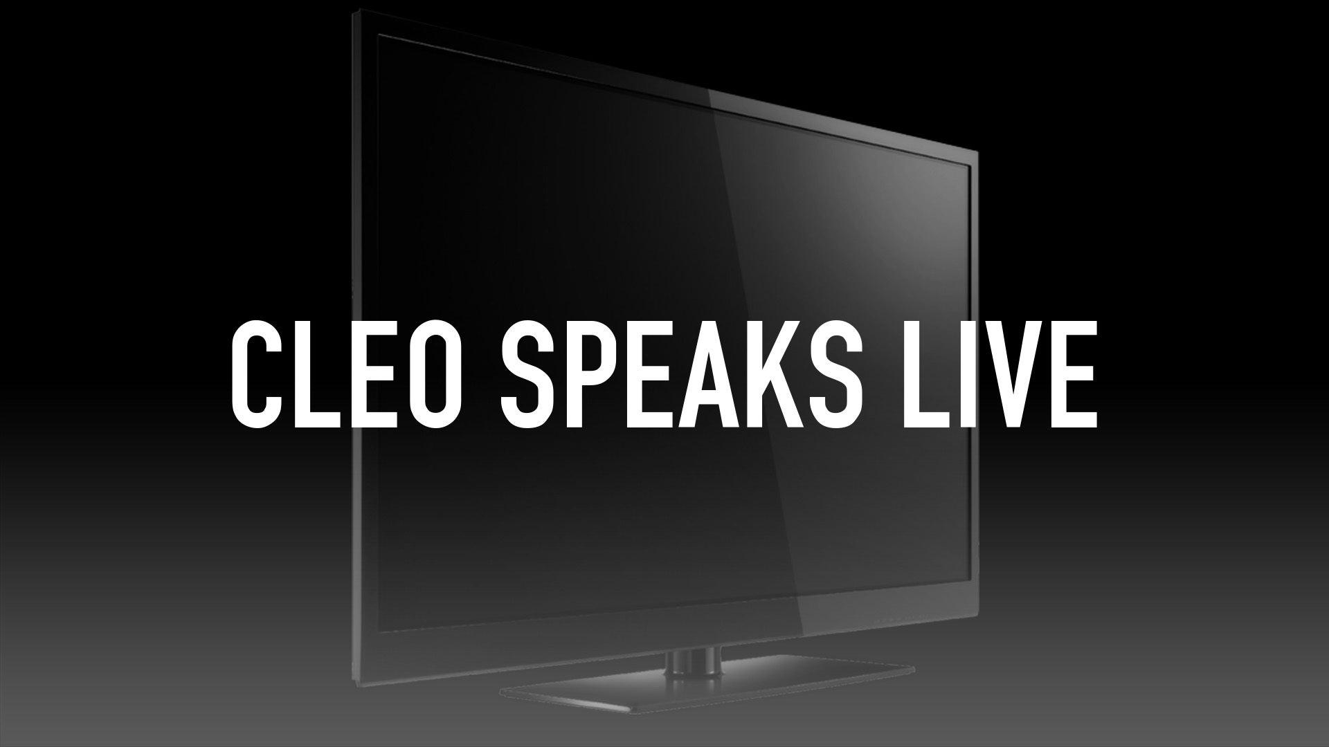 Cleo Speaks Live