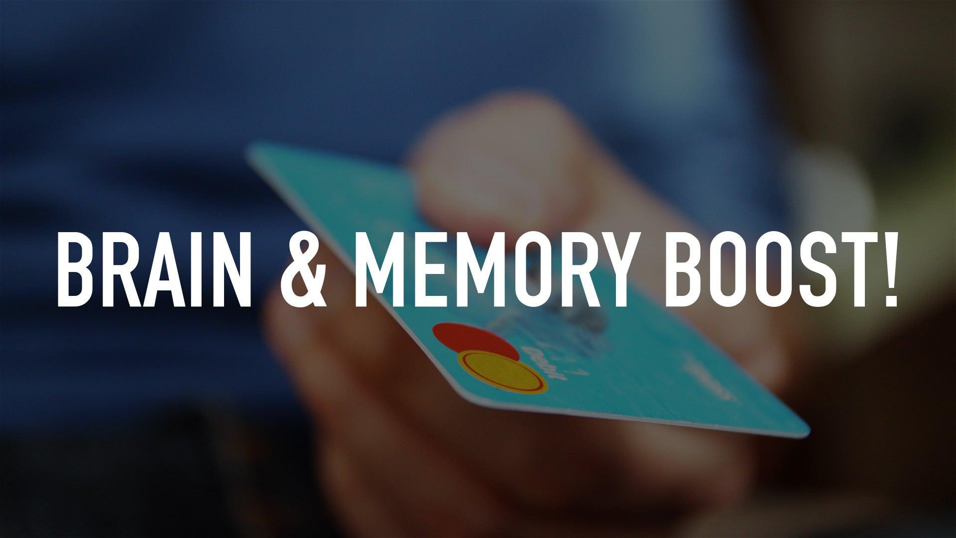 Brain & Memory Boost!