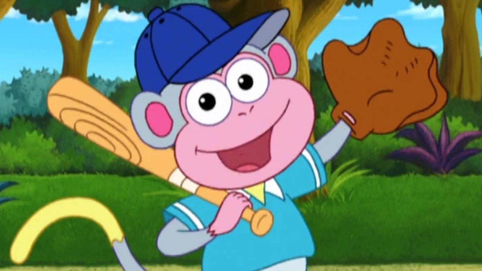 Dora the Explorer Baseball Boots on Philo