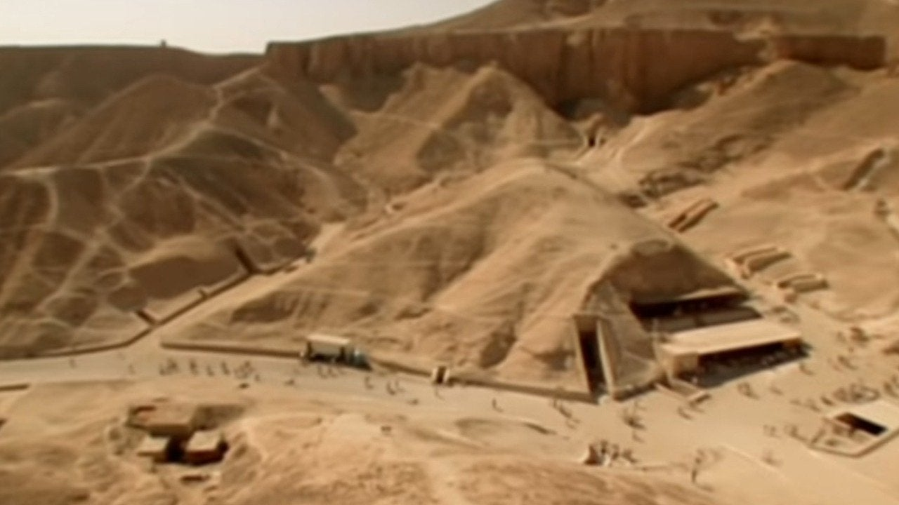 King Tut's Mystery Tomb Opened