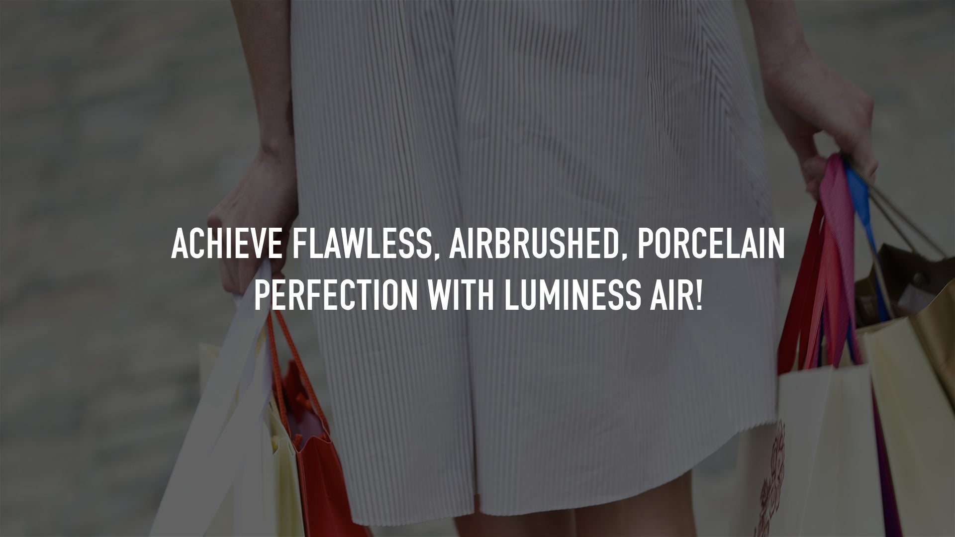 Achieve flawless, airbrushed, porcelain perfection with Luminess Air!