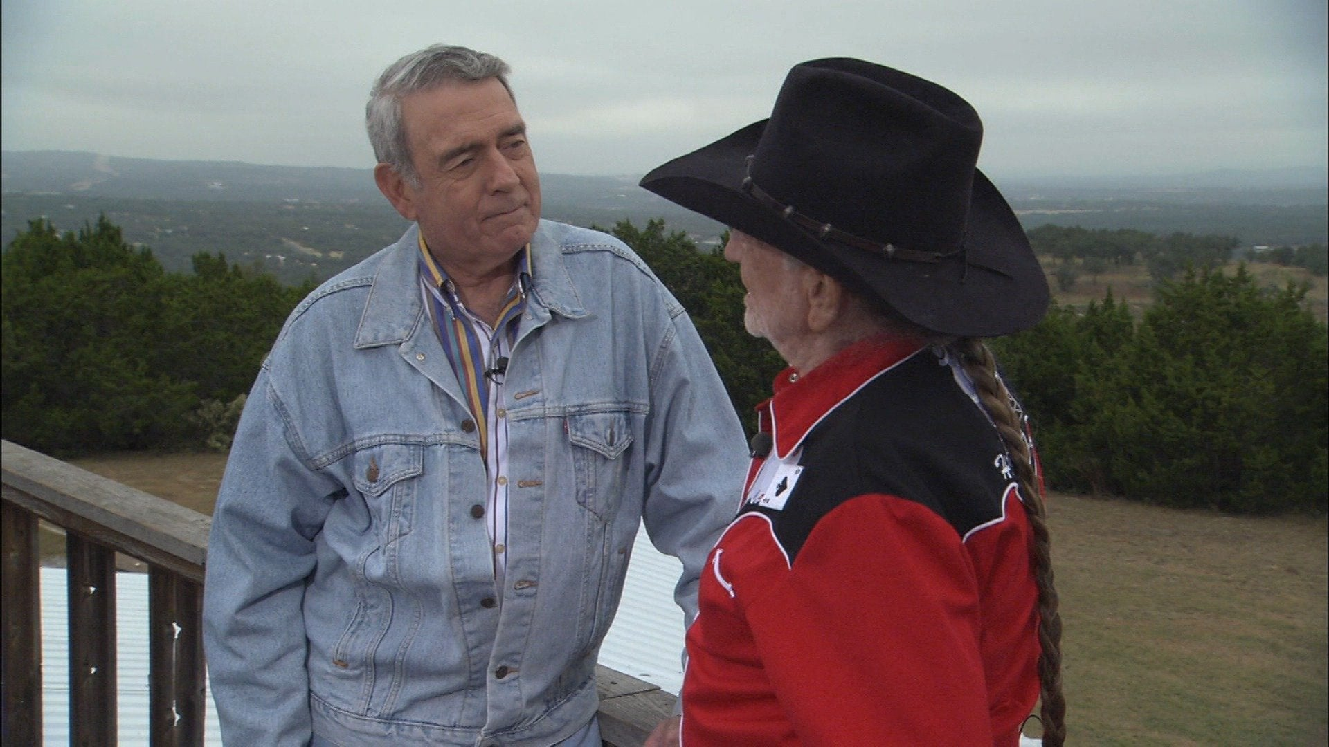 American Voices: A Conversation With Dan Rather and Willie Nelson