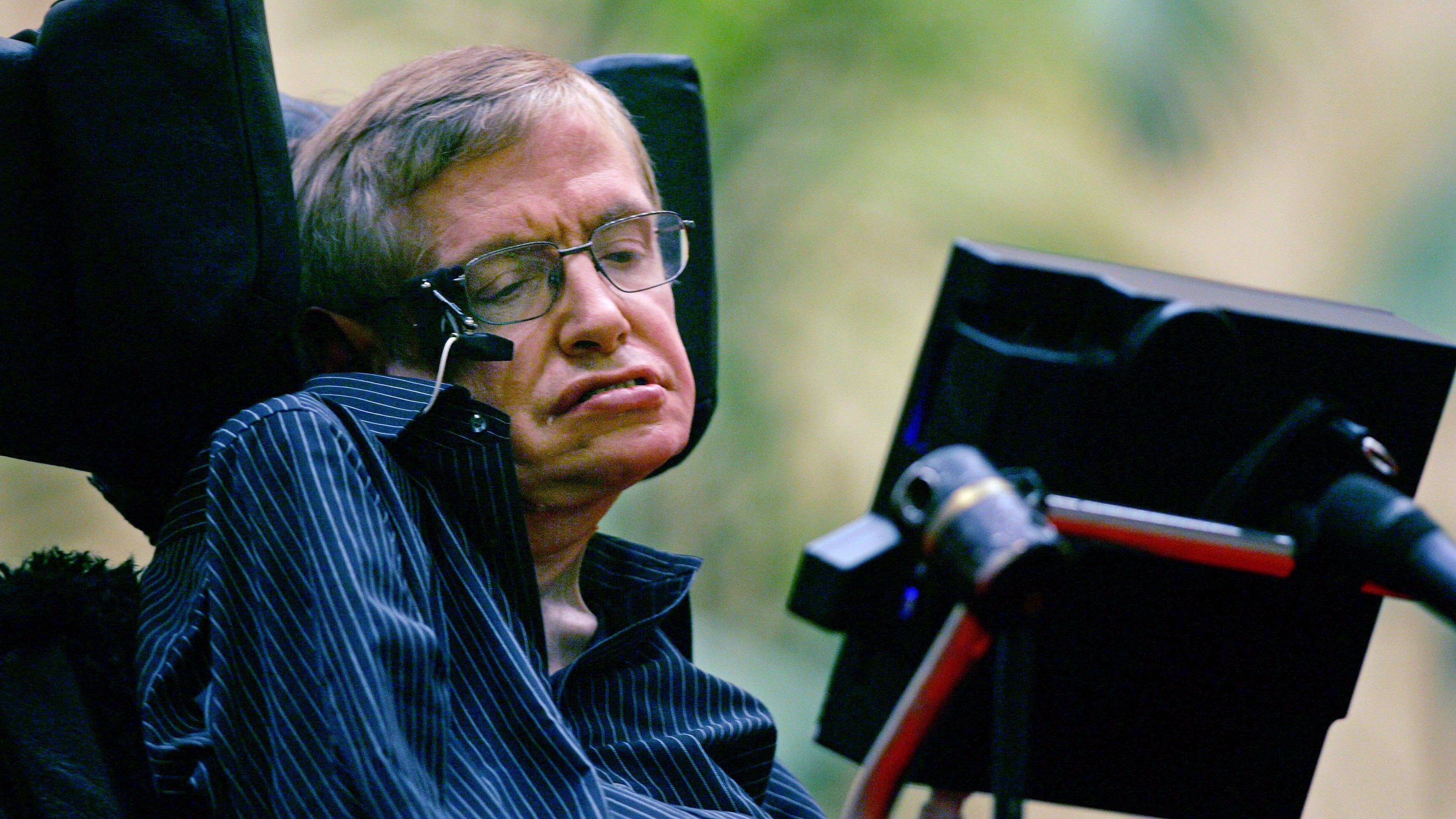 Stephen Hawking's Brave New World