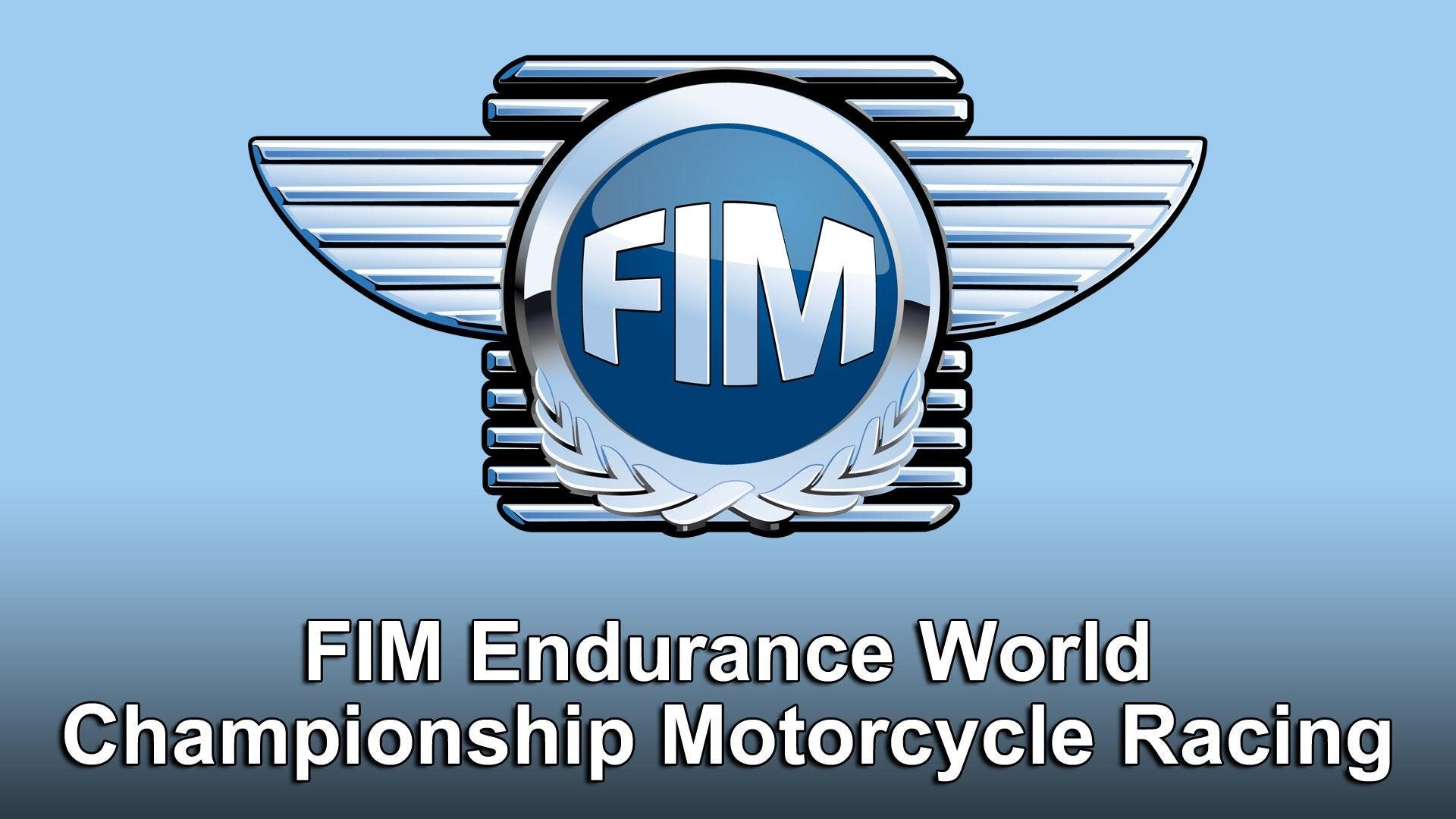 FIM Endurance World Championship Motorcycle Racing