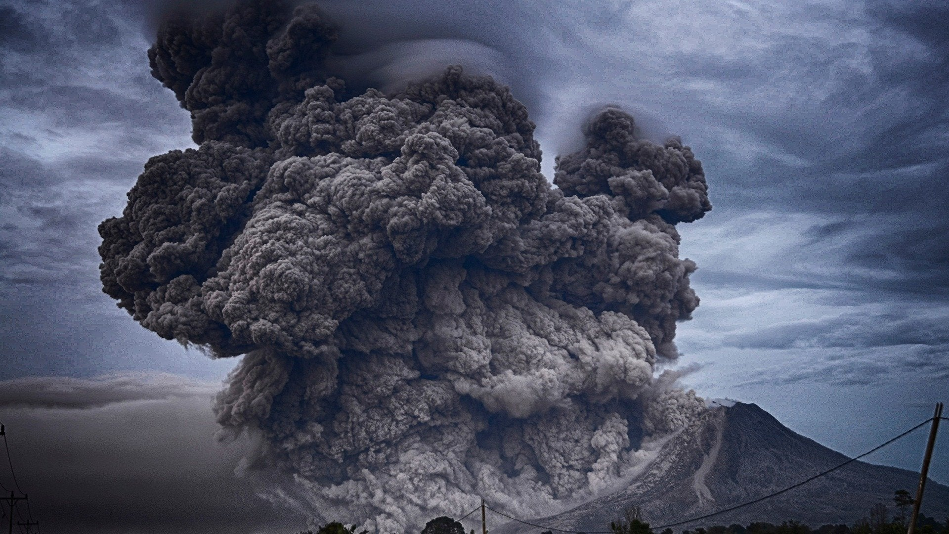 Volcano Time Bomb