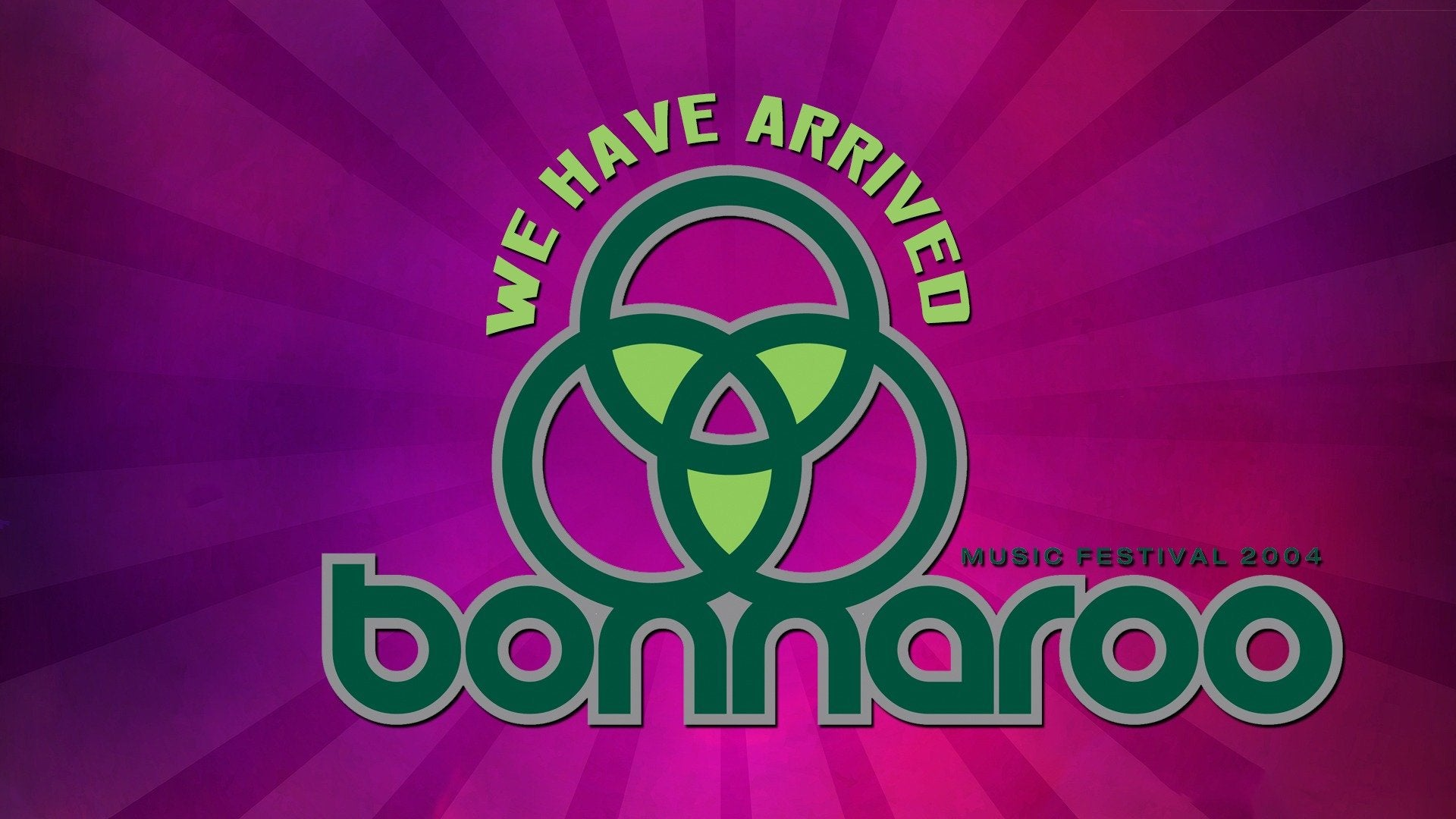 We Have Arrived: Bonnaroo 2004