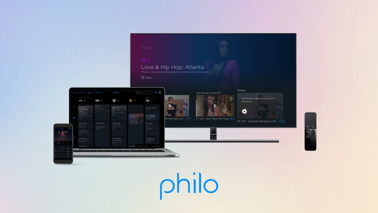 'Philo on multiple platforms'